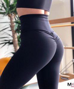 colanti fitness push up colanti talie inalta cu efect de lifting