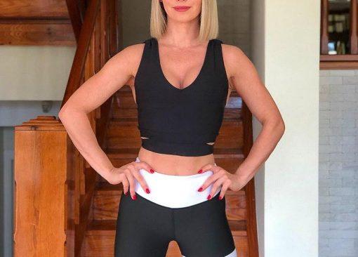 bustiera sport dans fitness