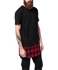 tricou lung barbati urban