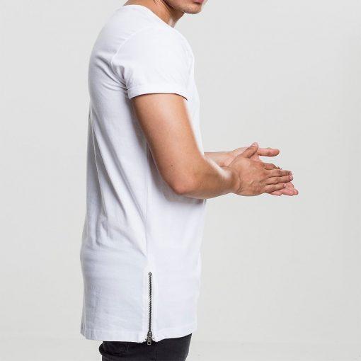 tricou lung barbati urban side zip